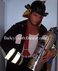 Fire Fighter Stripper Costume